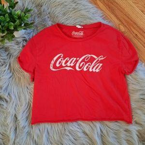 ❤4/$20 Garage Clothing Coca-Cola Crop Top